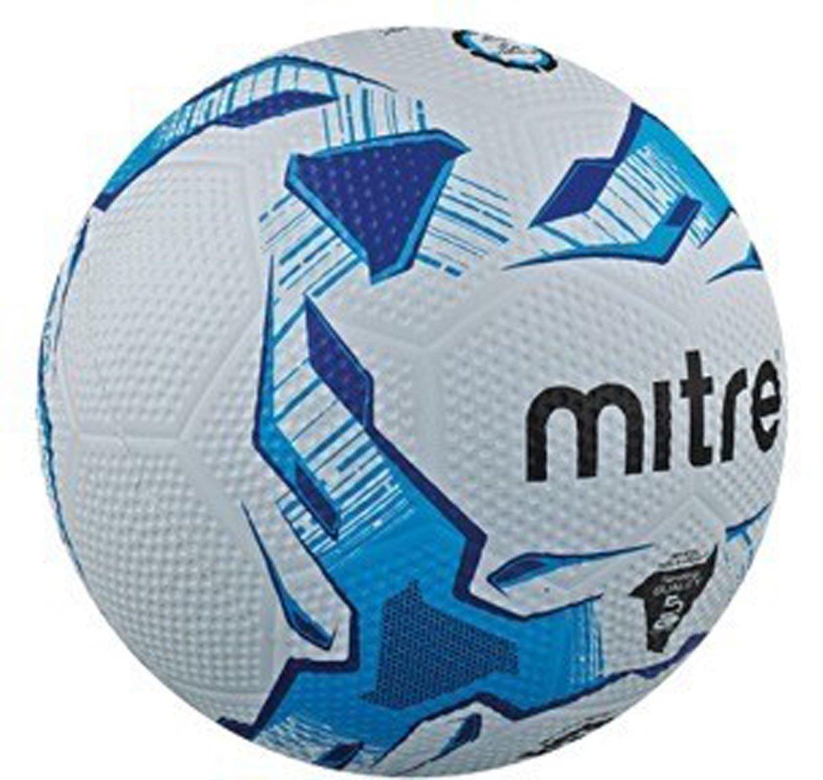 Mitre Super Dimpleスペシャリストすべてサーフェスナイロン創傷サッカーボールサイズ5 B01CSUU6ZS
