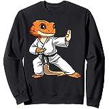 Lizard Karate Bearded Dragon Owners Bearded Dragon Karate Sweatshirt