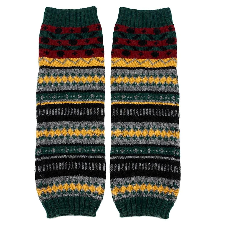 Creazy@ Stockings Set Knitting Socks Leg Warmers Boot Cover