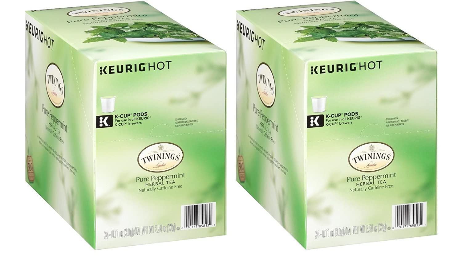 Twinings of London Pure Peppermint Tea K-Cups for Keurig