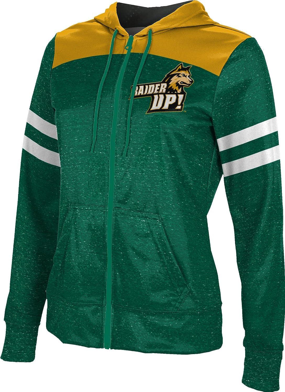 School Spirit Sweatshirt Wright State University Girls Zipper Hoodie Game Time