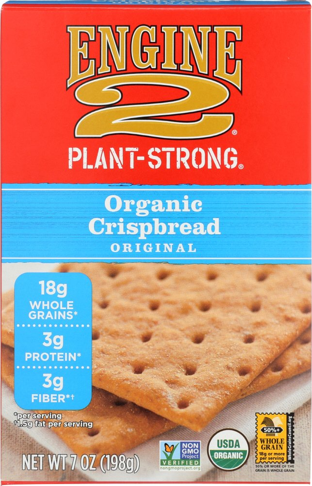 Engine 2, Organic Crispbread Original, 7 oz
