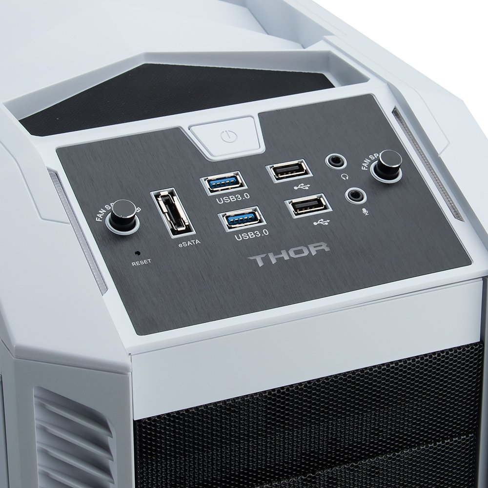 Rosewill Gaming ATX Full Tower Computer Case Cases THOR V2-W Black, white by Rosewill (Image #8)