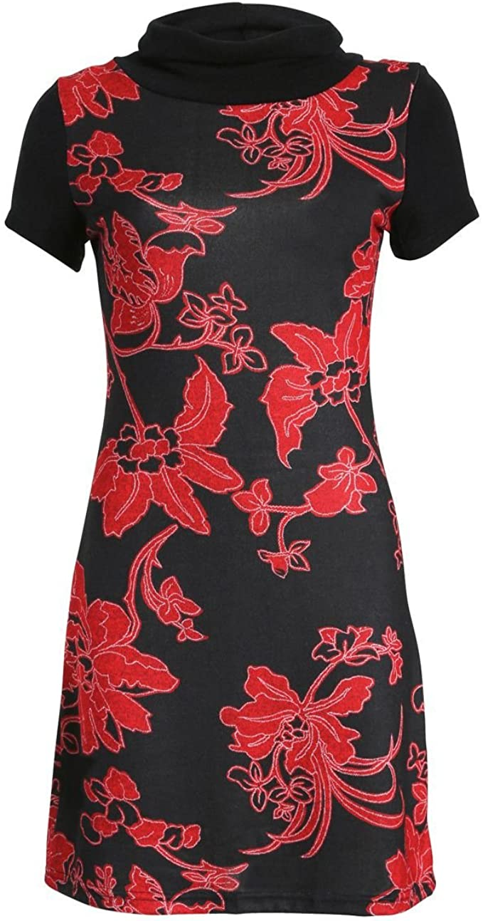 Samya Damen Kleid rot rot