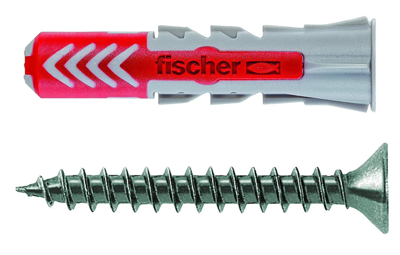 160 Teile D/übel und Schrauben Set Schrauben Fischer 518525 Meister-Box Spreizd/übel SX