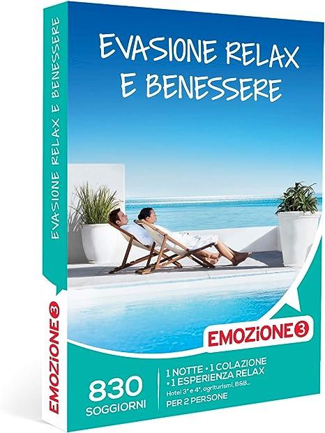 Emozione3 Evasione Relax E Benessere Cofanetto Regalo