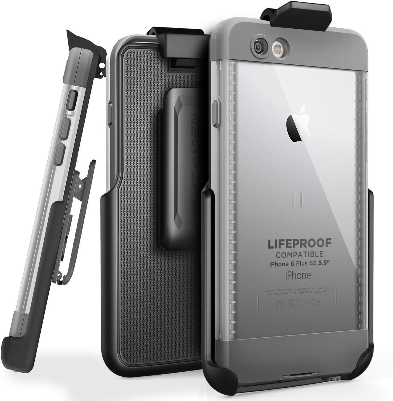 Encased Belt Clip Holster for LifeProof NUUD Case, iPhone 6 Plus 5.5