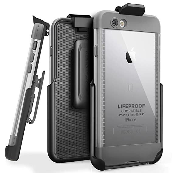 online store 1dab1 5781f Belt Clip Holster for LifeProof NUUD Case, iPhone 6 Plus 5.5