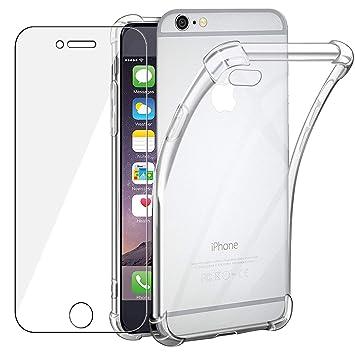 TVVT Funda para iPhone 6s / iPhone 6, Carcasa Transparente ...