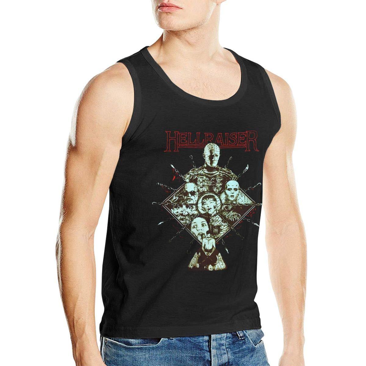 Emmanuelharrod Hellraiser Tank Tops Sleeveless T-shirts Black