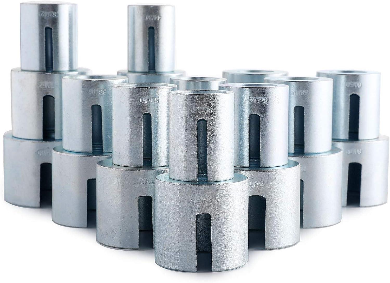 Z ZELUS 27 Pcs Outils dExtraction dInsertion de Roulement Kit de Manchons Universel pour Outil de Retrait de Roulement de Roue Outil Extracteur de Joint de Voiture
