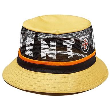 e45919868df0af Amazon.com: Brixton x Independent F/U Hardy Bucket Hat - Yellow - SM ...