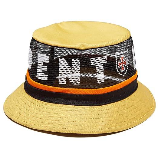 Amazon.com  Brixton x Independent F U Hardy Bucket Hat - Yellow - SM ... e6fb0fb2eba8