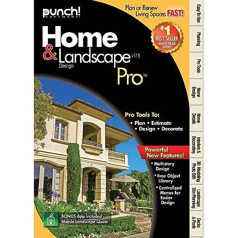 Amazon.com: Punch! Home & Landscape Design Pro v17.5 [Download ...