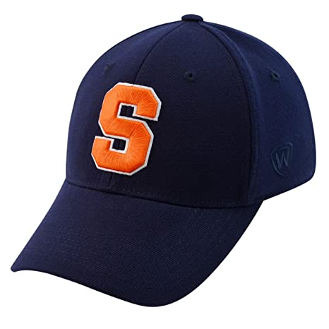 premium selection 701f5 4d0ca Image Unavailable. Image not available for. Color  Top of the World Syracuse  Orangemen Official NCAA One Fit Large Tow HAT 352732