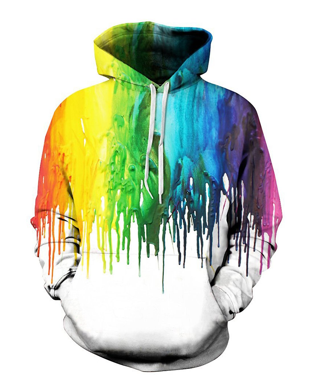 sankill Unisex 3D Digital Pullover Sweatshirt Printed Hoodies Funny Hooded Sweatshirt Pockets by sankill