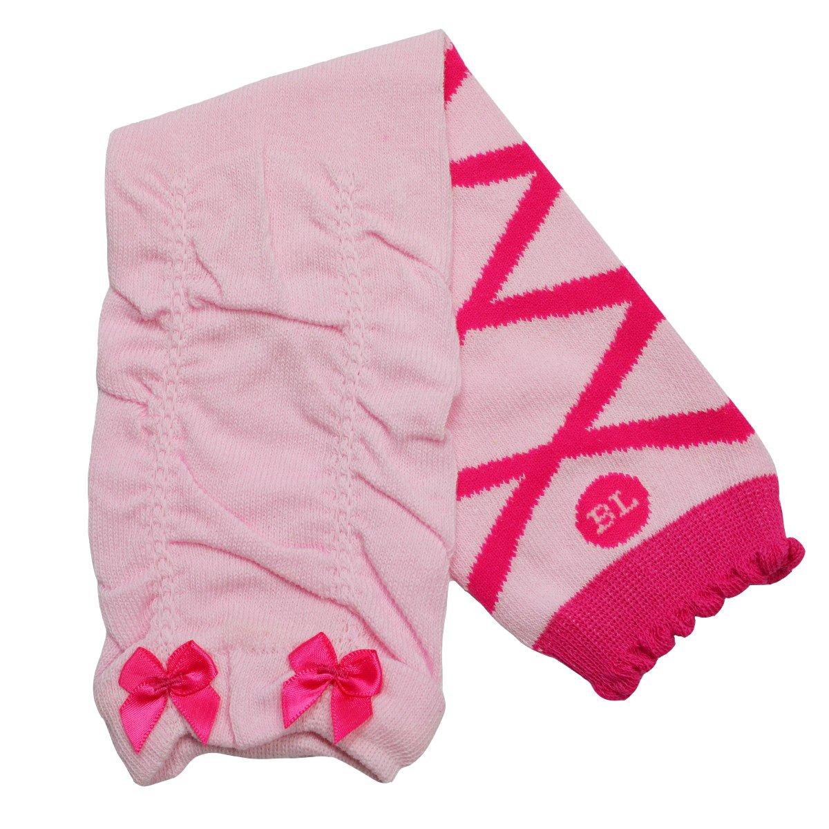 Babylegs Baby-girls Ballet Bow Pink Leggings