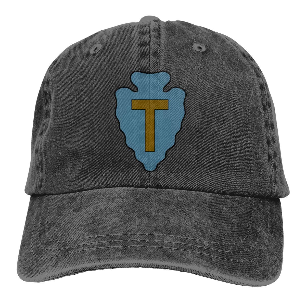 Sajfirlug US Marines Fashion Adjustable Cowboy Cap Denim Hat for Women and Men