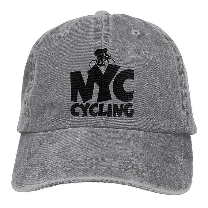 79a47618e56 Amidifgy NYC Cycling Printing Adjustable Baseball Cap Hats for Men Women  Adult at Amazon Men s Clothing store