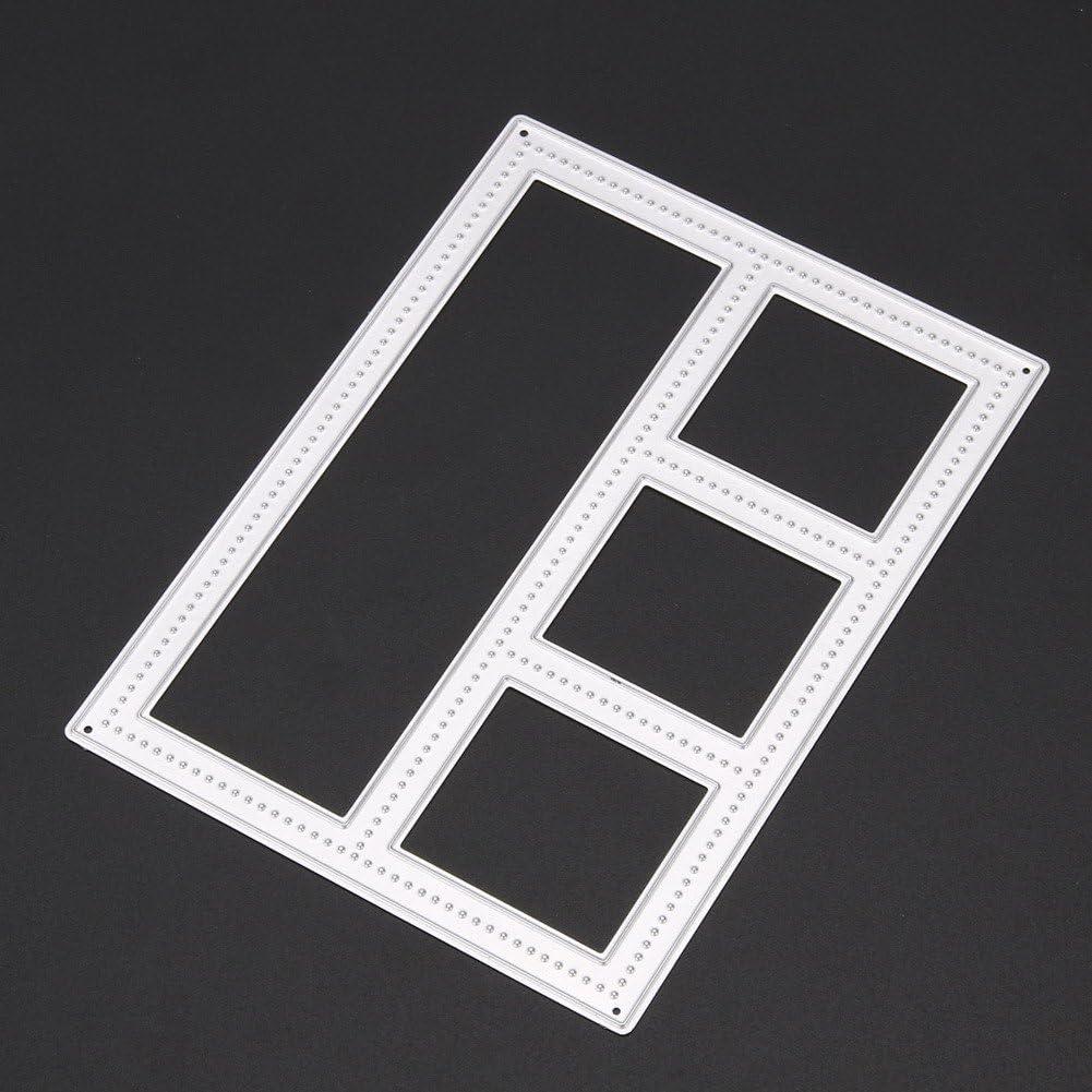 Demiawaking Una Paia di Figura di Piuma del Stampino Metallo di Artigianale Incidere Tagliare Scrapbooking Stencil per La casa Decorazione Segnalibro Murale Fai da Te Foglio da Abbellimento