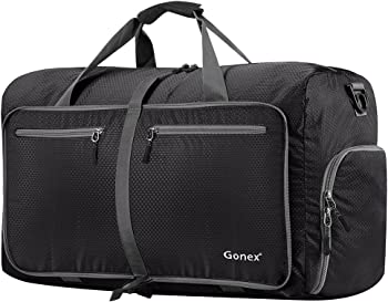 Gonex 80L Foldable Travel Duffel Bag Water