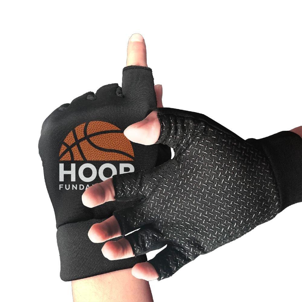 Amazon.com : Huayaa Unisex Fingerless Gloves Hoop ...