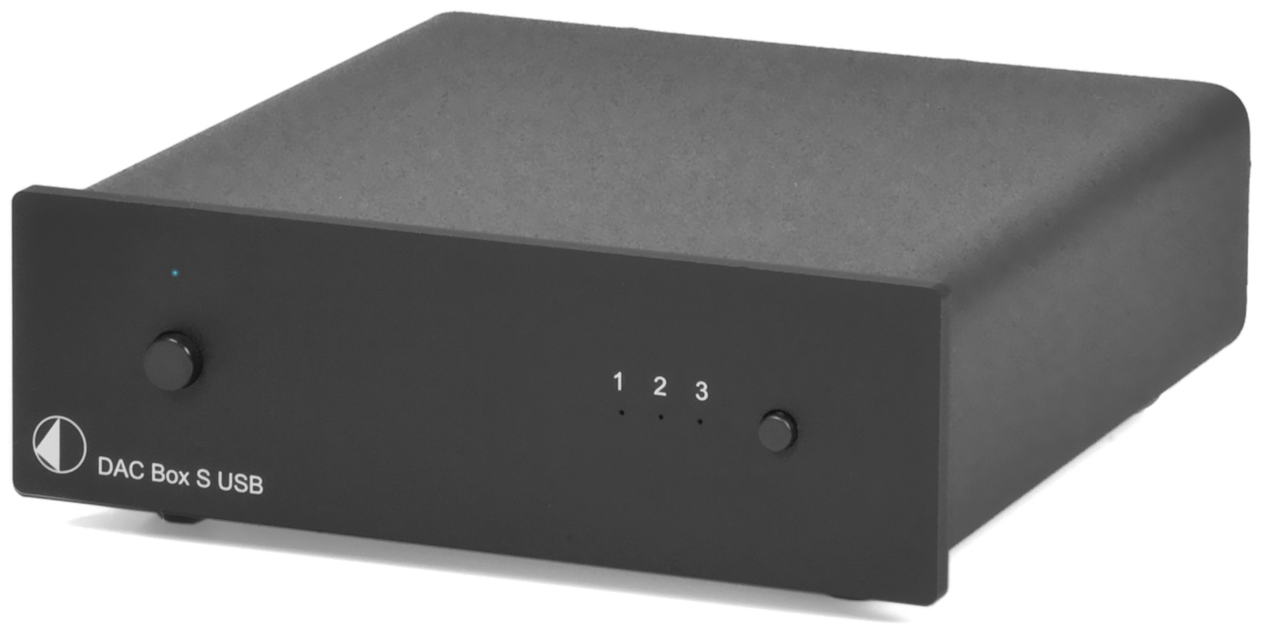 Pro-Ject DAC Box S USB (black) Digital To Analog Converter, Black