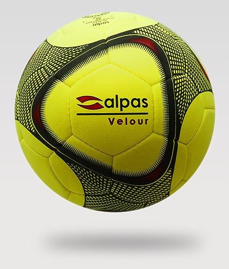 Alpas - Balón de fútbol Sala (Aterciopelado, tamaño 4 o 5) Talla:4 ...