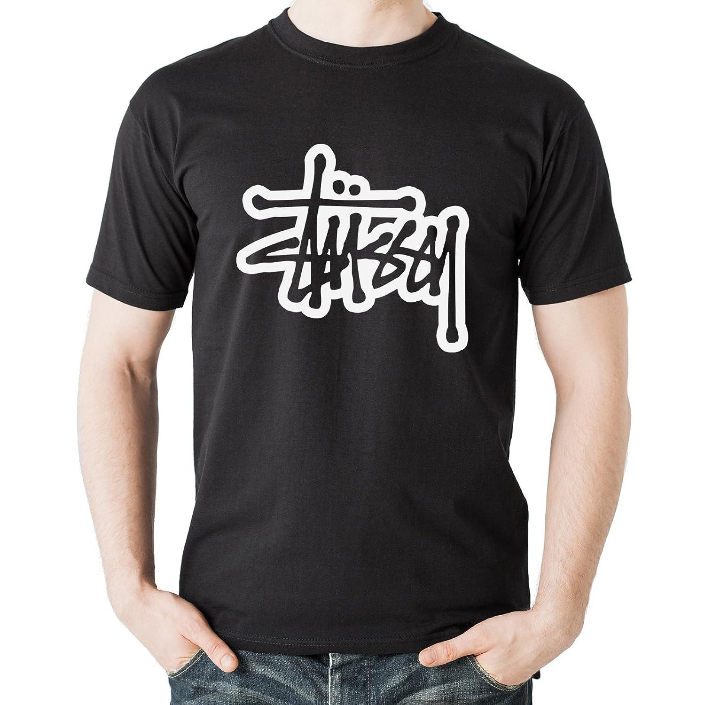 Stussy 3D Graffity Art White Art Herren T-Shirt