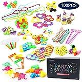 Amy&Benton 100 Pcs Treasure Box Pinata Filler Carnival Prizes Toy Assortment Birthday Party Favors for Kids