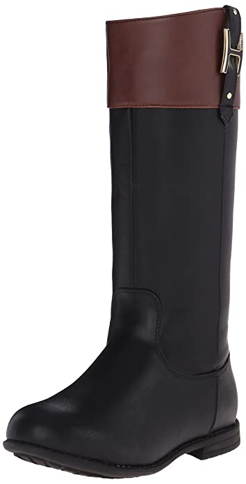 Amazon.com | Tommy Hilfiger Kids Andrea H Charm Riding Boot ...