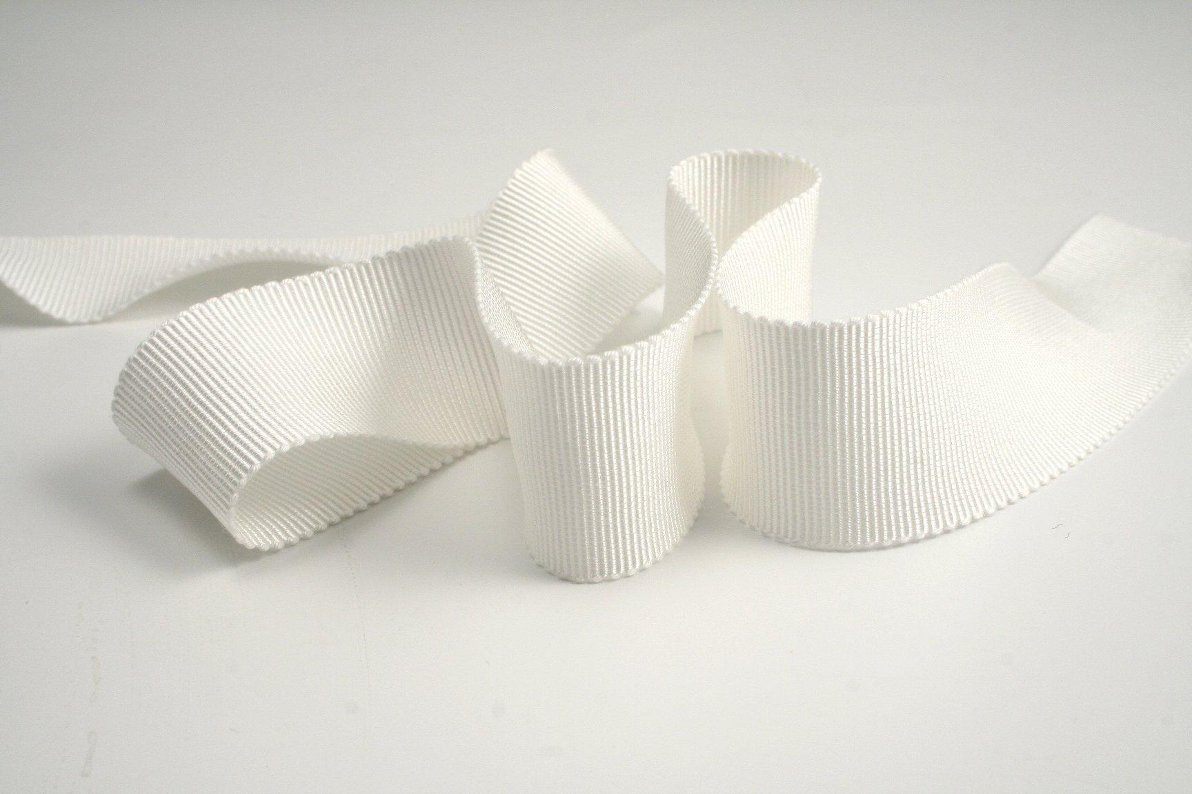 1-1/2''(36mm) 100% Rayon Petersham Ribbon 33yds (150 Natural)