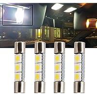nslumo blanco LED 28mm-31mm 5630SMD Bombilla de luz