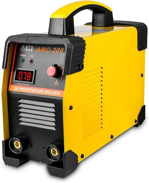 Soldadura plumas Portátil Electrodo Autool, 220 V, 30 – 160 A Inverter ARC