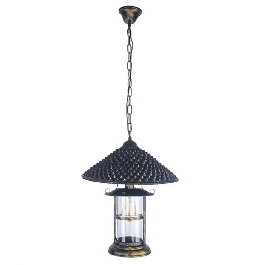 Amazon.com: Joypeach - Lámpara de araña vintage con 1 luz ...