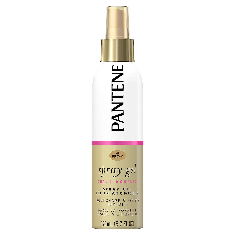 Amazon Pantene Pro V Curl Hair Spray Gel Hold Shape Resist