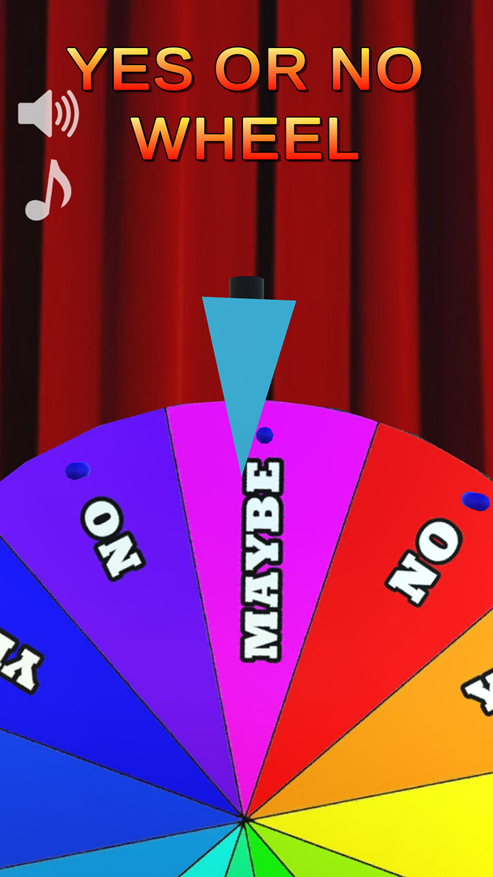 YES or NO wheel - spin to decide: Amazon.ca: Appstore for