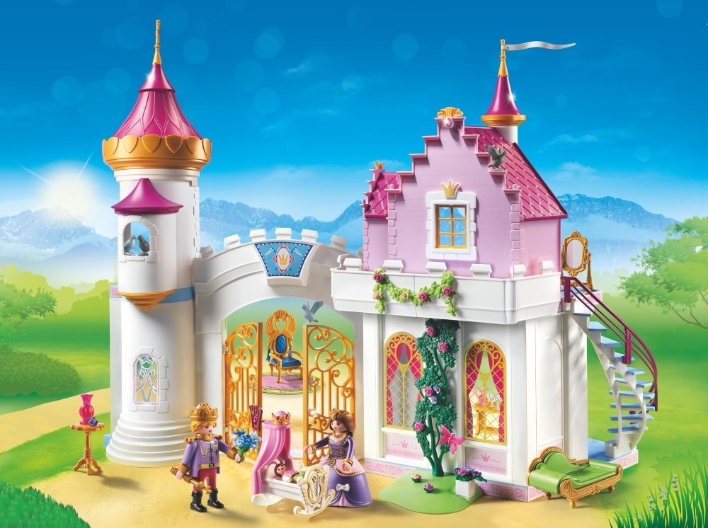 playmobil 6849 princess royal residence amazoncouk toys games - Play Mobile Fille