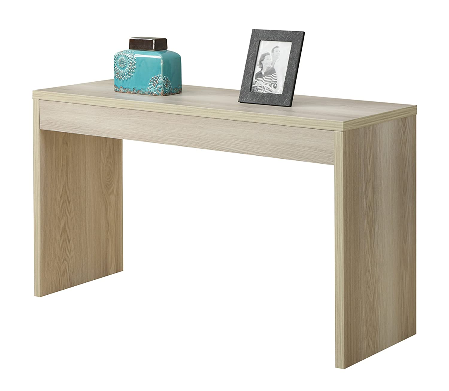 Amazon convenience concepts northfield hall console table amazon convenience concepts northfield hall console table weathered white kitchen dining geotapseo Images