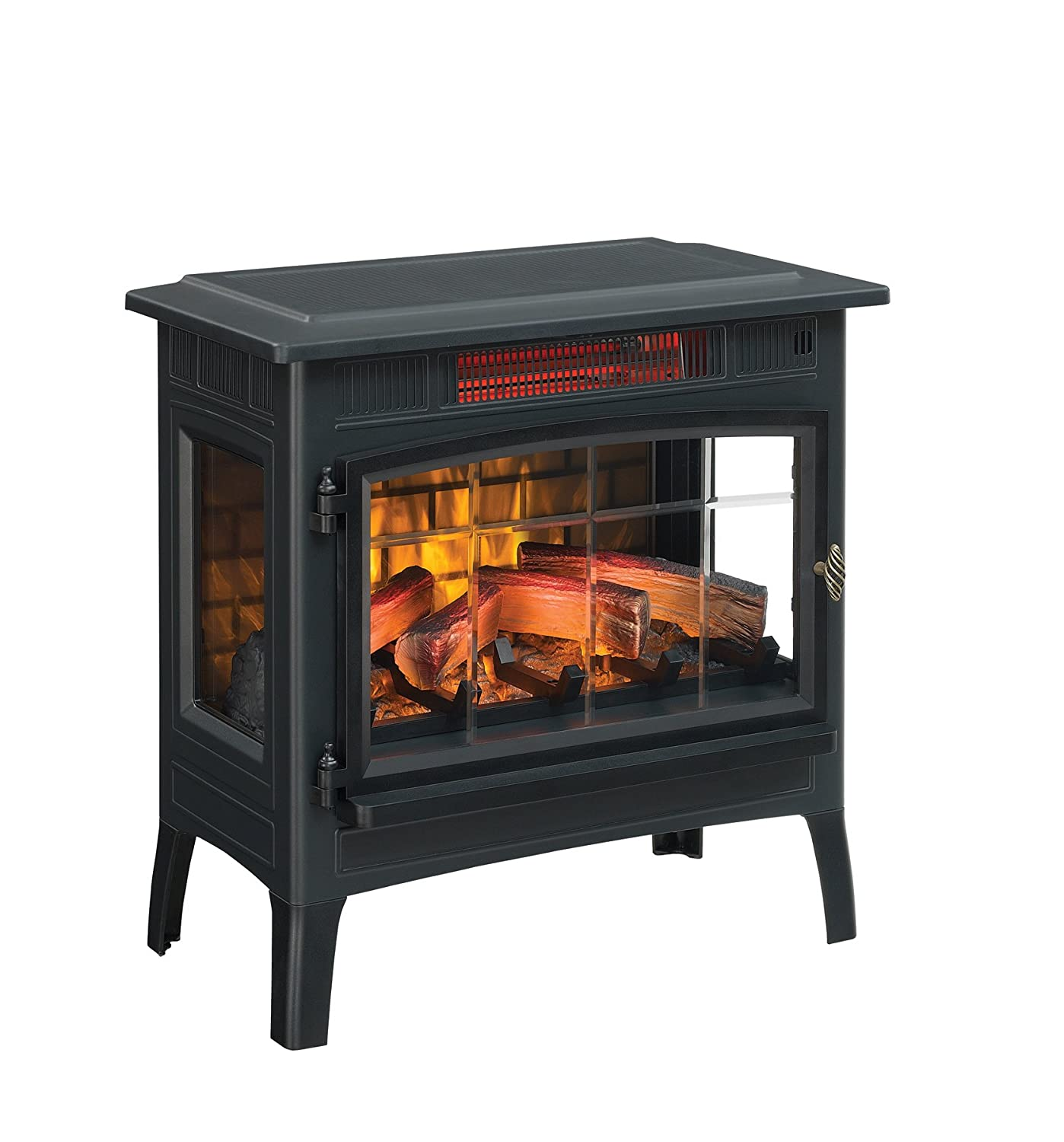 amazon com duraflame dfi 5010 01 infrared quartz fireplace stove