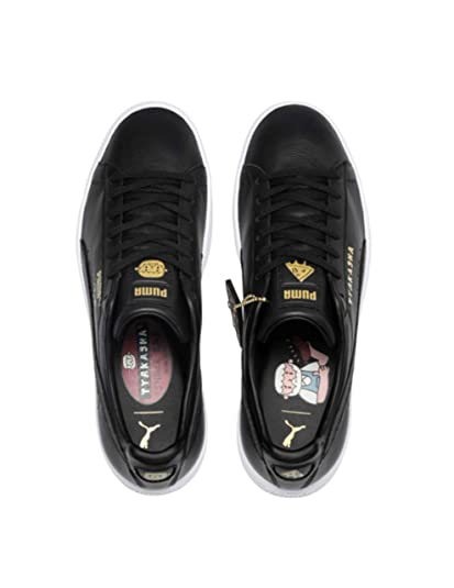 Image Unavailable. Image not available for. Color  PUMA x TYAKASHA Unisex  Black Clyde Sneakers ... fbaec85a3
