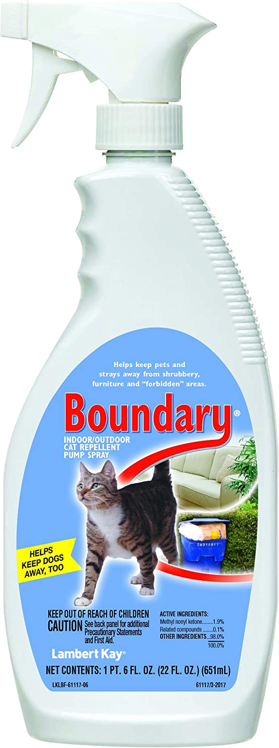 4. Lambert Kay Boundary Indoor/Outdoor Cat Repellent