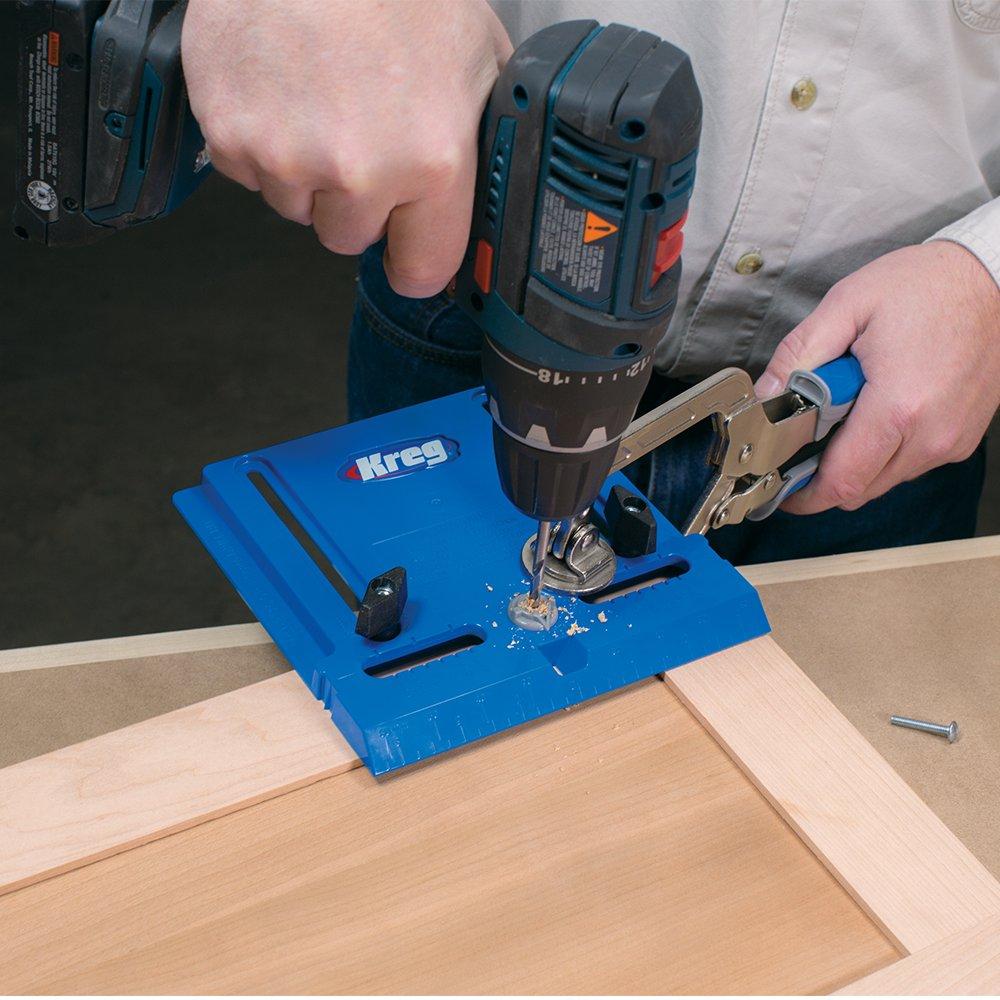 kreg tool company khi pull cabinet hardware jig amazon com rh amazon com