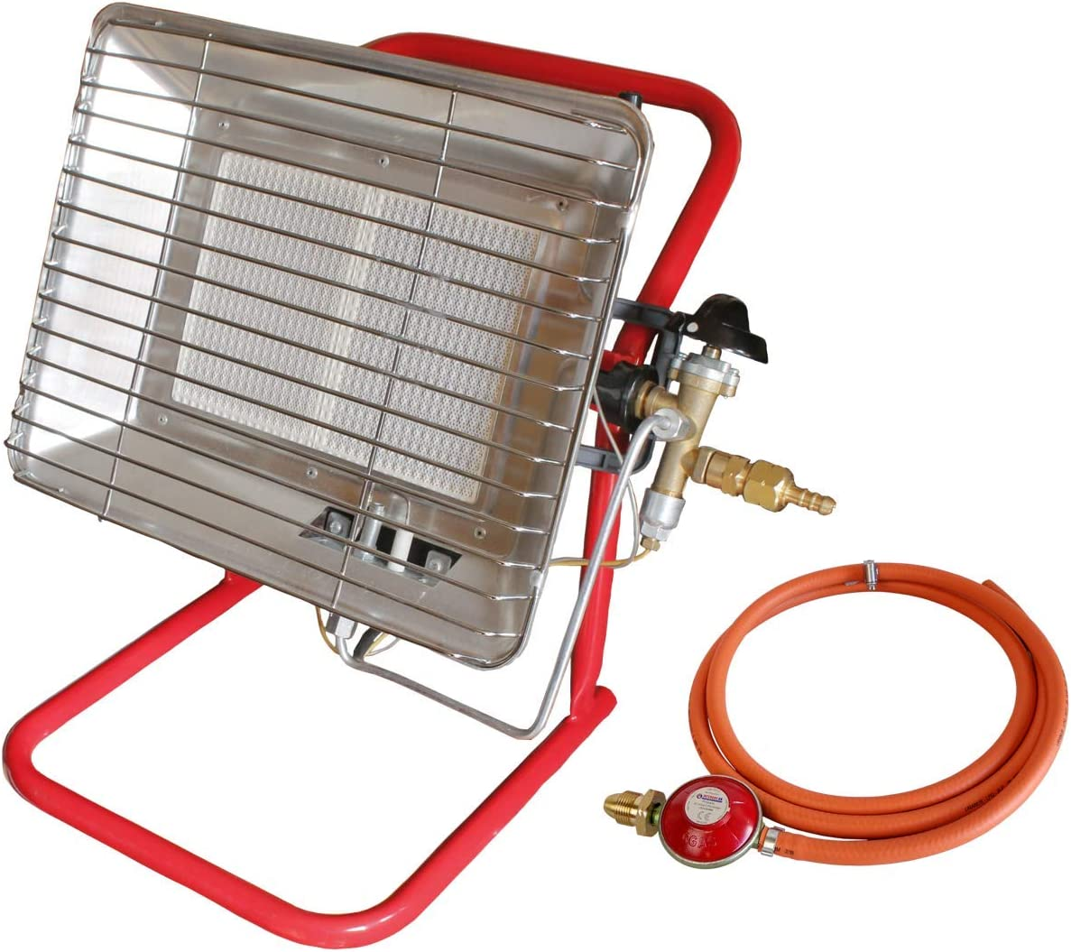 Calentador de gas propano portátil para sitio y taller de encendido por chispa