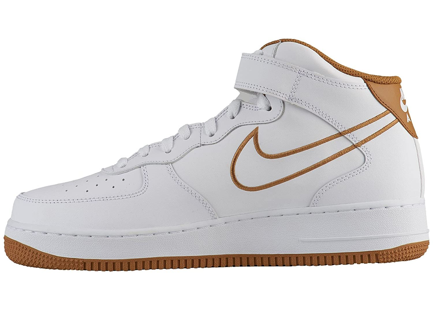 Nike Air Force 1 Mid 07 Lthr Zapatos 1 de 07 Bronze Baloncesto para