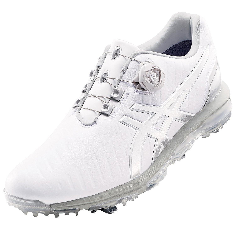 [アシックス] GEL-ACE PRO3 Boa ゲルエースプロ3ボア ゴルフシューズ ホワイト/シルバー TGN919 B01N5V2RVT 27.0cm