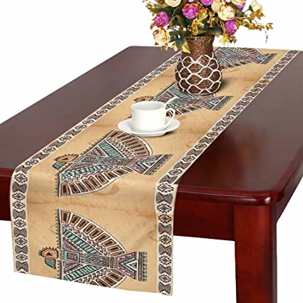 Amazon Com Interestprint Tribal Native American Eagle Table Runner