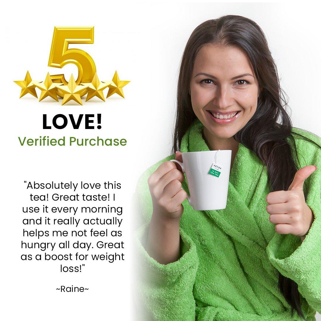 HerbaFrame 14-Day TeaTox Detox Tea (28 bags) | Premium Weight Loss Tea | Herbal Body Cleanse | Healthy Slimming Tea | Fat Burner | Energizing Appetite Control | Weight Management for Women and Men