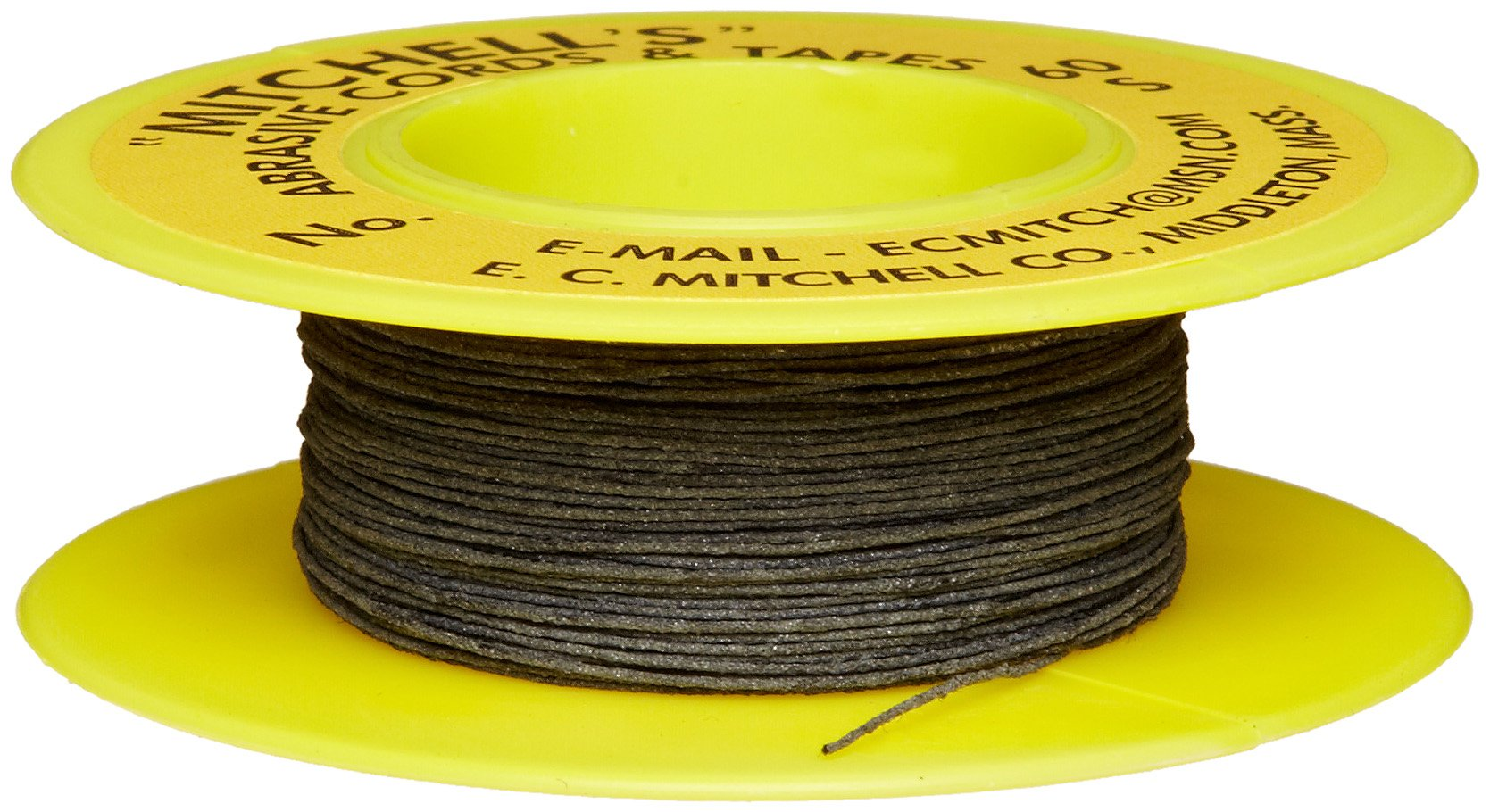 Mitchell Abrasives 60-S Round Abrasive Cord, Silicon Carbide 200 Grit .015'' Diameter x 50 Feet