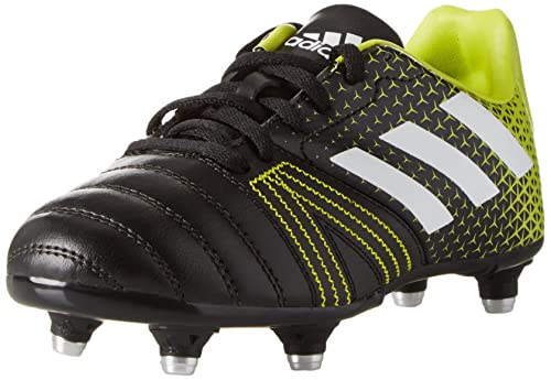 adidas All Blacks Junior SG, Scarpe da Rugby Bambino, (Core Black/Ftwr